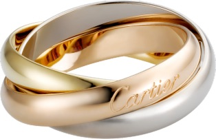 Anello firmato Cartier
